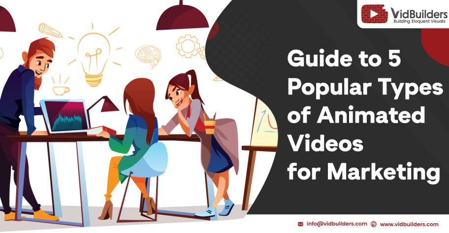 Guide to 5 Popular Types of Animated Videos for Marketing